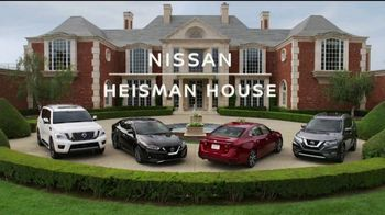 Nissan TV Spot, 'Heisman House: Parking Spot' Featuring Marcus Mariota & Kyler Murray [T1]