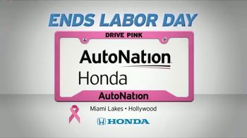 AutoNation 72 Hour Flash Clearance TV Spot, 'Labor Day: 2019 Honda Civic and HR-V' - Thumbnail 7