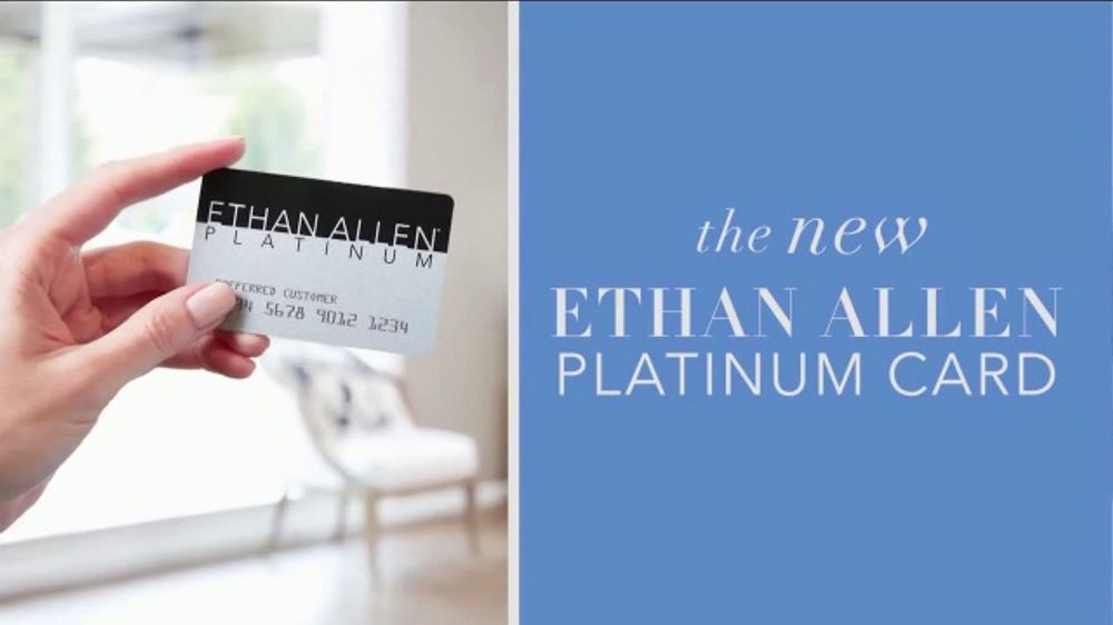 Ethan Allen Labor Day Sale TV Commercial, 'Platinum Card'