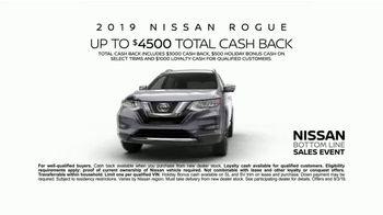 Nissan Bottom Line Sales Event TV Spot, 'Car Buying Season' [T2] - Thumbnail 8