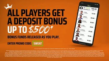 DraftKings The Million Dollar Sweat TV Spot, 'Welcome to the Sweat' - Thumbnail 9