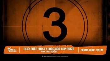 DraftKings The Million Dollar Sweat TV Spot, 'Welcome to the Sweat' - Thumbnail 3