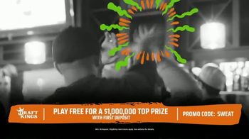 DraftKings The Million Dollar Sweat TV Spot, 'Welcome to the Sweat' - Thumbnail 4