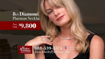 Jewelry Exchange TV Spot, 'Simply Irresistible: GIA Heart Shaped Diamond, Platinum Necklace & Studs