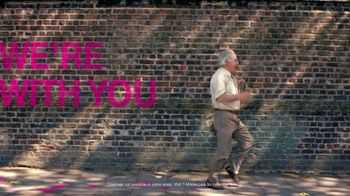T-Mobile TV Spot, 'Most Powerful Signal: We're With You' Song by George Michael - Thumbnail 8