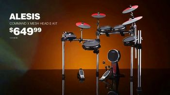 Guitar Center TV Spot, '2019 Labor Day: Alesis and Pearl' - Thumbnail 6