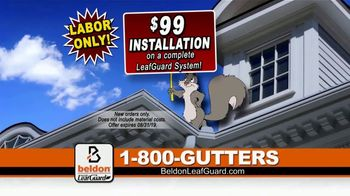 Beldon LeafGuard $99 Installation Sale TV Spot, 'You Never Know'