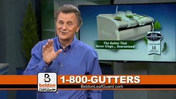 Beldon LeafGuard $99 Installation Sale TV Spot, 'Ladder-Related Accidents'