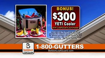 Beldon LeafGuard $99 Installation Sale TV Spot, 'Ladder-Related Accidents' - Thumbnail 8