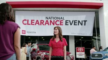 Toyota National Clearance Event TV Spot, 'Last of the 2019s' [T1] - 10 commercial airings
