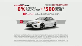 Toyota National Clearance Event TV Spot, 'Last of the 2019s' [T2] - Thumbnail 6