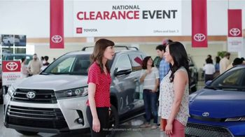 Toyota National Clearance Event TV Spot, 'Win, Win' [T2] - 130 commercial airings