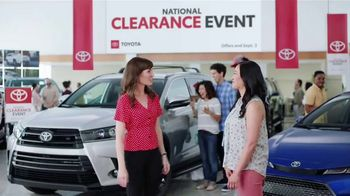 Toyota National Clearance Event TV Spot, 'Win, Win' [T2] - Thumbnail 5