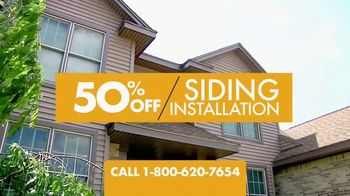 1-800-HANSONS Hottest Siding Sale of the Summer TV Spot, 'Lifetime Guarantee' - Thumbnail 2