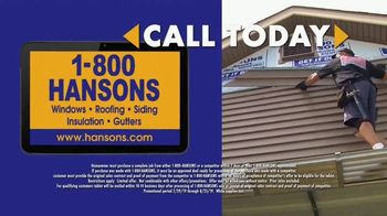 1-800-HANSONS Hottest Siding Sale of the Summer TV Spot, 'Lifetime Guarantee' - Thumbnail 6