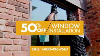 1-800-HANSONS End of Summer Window Sale TV Spot, 'Triple-Pane Windows'