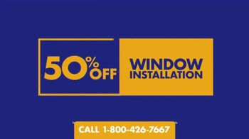 1-800-HANSONS End of Summer Window Sale TV Spot, 'Triple-Pane Windows' - Thumbnail 3