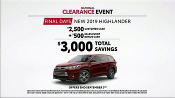 Toyota National Clearance Event TV Spot, 'Duet' [T1] - Thumbnail 7