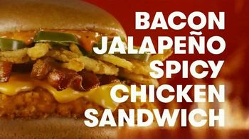 Wendy's Bacon Jalapeño Spicy Chicken Sandwich TV Spot, 'The Queen of Spice' - Thumbnail 5