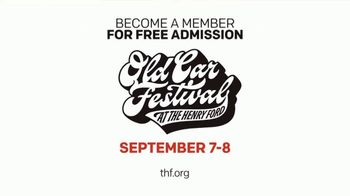 The Henry Ford TV Spot, 'Icons of Design & Innovation: Old Car Festival' - Thumbnail 9