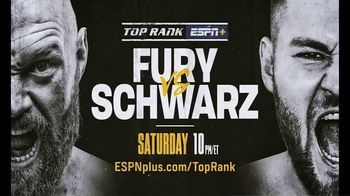 ESPN+ TV Spot, 'Top Rank: Fury vs. Schwarz' - Thumbnail 10