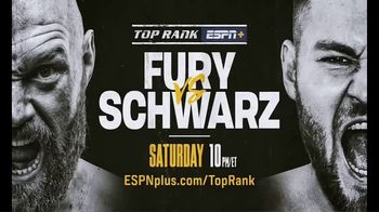 ESPN+ TV Spot, 'Top Rank: Fury vs. Schwarz' - Thumbnail 9