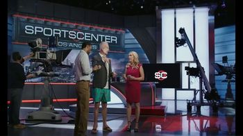 AARP Services, Inc. App TV Spot, 'SportsCenter: Something to Eat' Featuring Kenny Mayne