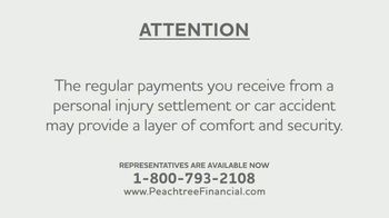Peachtree Financial TV Spot, 'Structured Settlements: A Blessing and a Curse' - Thumbnail 1