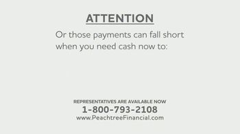 Peachtree Financial TV Spot, 'Structured Settlements: A Blessing and a Curse'