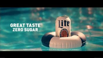 Miller Lite TV Spot, 'Pool' Song by Khruangbin - Thumbnail 4