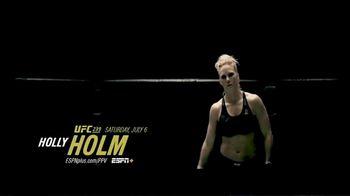 ESPN+ TV Spot, 'UFC 239: Nunes vs. Holm: Greatness' - Thumbnail 1