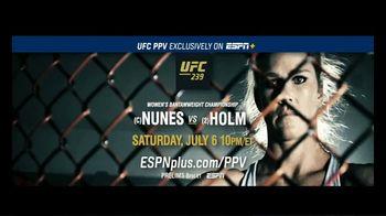 ESPN+ TV Spot, 'UFC 239: Nunes vs. Holm: Greatness' - Thumbnail 10