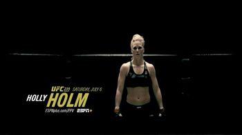 ESPN+ TV Spot, 'UFC 239: Nunes vs. Holm: Greatness' - Thumbnail 2