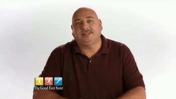 The Good Feet Store TV Spot, 'Dave's Good Feet Story: Instant Pain Relief'