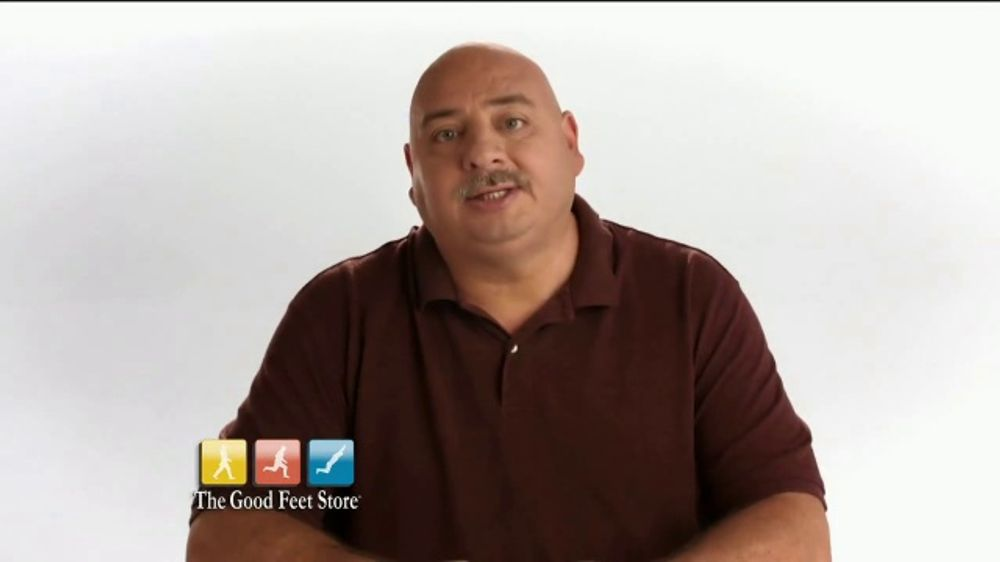 The Good Feet Store TV Commercial, 'Dave's Good Feet Story: Instant Pain Relief'