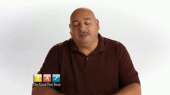 The Good Feet Store TV Spot, 'Dave's Good Feet Story: Instant Pain Relief' - Thumbnail 1
