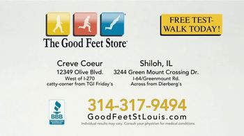 The Good Feet Store TV Spot, 'Dave's Good Feet Story: Instant Pain Relief' - Thumbnail 8