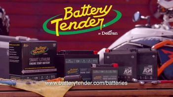 Battery Tender TV Spot, 'AGM and Smart Lithium Engine Start Batteries' - Thumbnail 10