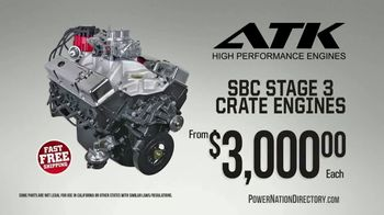 PowerNation Directory TV Spot, 'ATK Engines, ARP Bolt Kits, Taylor Ignition Boxes, Wheels'