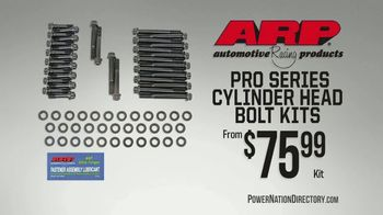 PowerNation Directory TV Spot, 'ATK Engines, ARP Bolt Kits, Taylor Ignition Boxes, Wheels' - Thumbnail 2
