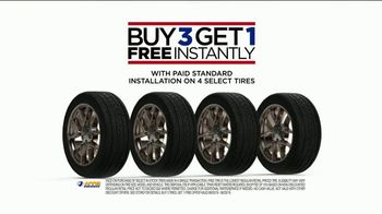 NTB TV Spot, 'Buy Three Tires, Get One Free: $70 Continental Rebate and Oil Change'