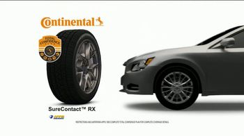 NTB TV Spot, 'Buy Three Tires, Get One Free: $70 Continental Rebate and Oil Change' - Thumbnail 4