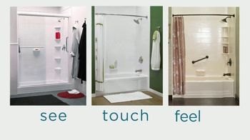 Bath Fitter TV Spot, 'Showroom in Cranberry' - Thumbnail 2