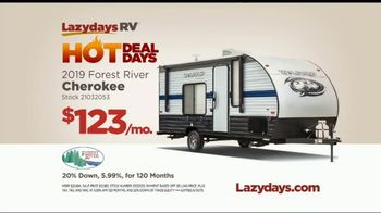 Lazydays Hot Deal Days TV Spot, '2019 Forest River Cherokee' - Thumbnail 8