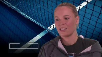 Tennis Industry Association TV Spot, 'Tips: New Racquets' Feat. Caroline Wozniacki, Rafael Nadal - Thumbnail 3