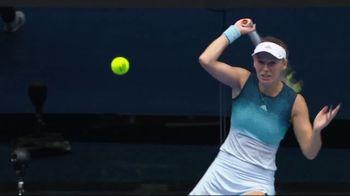 Tennis Industry Association TV Spot, 'Tips: New Racquets' Feat. Caroline Wozniacki, Rafael Nadal - Thumbnail 4