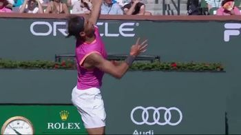 Tennis Industry Association TV Spot, 'Tips: New Racquets' Feat. Caroline Wozniacki, Rafael Nadal - Thumbnail 5