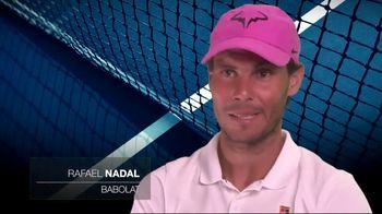 Tennis Industry Association TV Spot, 'Tips: New Racquets' Feat. Caroline Wozniacki, Rafael Nadal - Thumbnail 6