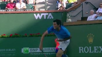 Tennis Industry Association TV Spot, 'Tips: New Racquets' Feat. Taylor Fritz, Marin Cilic - Thumbnail 3
