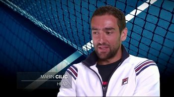 Tennis Industry Association TV Spot, 'Tips: New Racquets' Feat. Taylor Fritz, Marin Cilic - Thumbnail 5